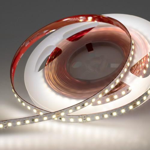LED лента Профессиональная, 10 мм, IP23, SMD 2835, 120 LED/m, 24 V, цвет свечения белый