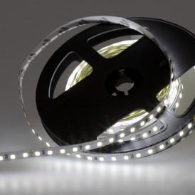 LED лента 24 В, 8 мм, IP23, SMD 2835, 120 LED/m, цвет свечения белый (6000 К)