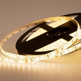 LED лента 24 В, 8 мм, IP65, SMD 2835, 120 LED/m, цвет свечения теплый белый (3000 К)