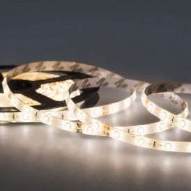 LED лента 24 В, 10 мм,  IP65, SMD 5050, 60 LED/m, цвет свечения теплый белый (3000 К)