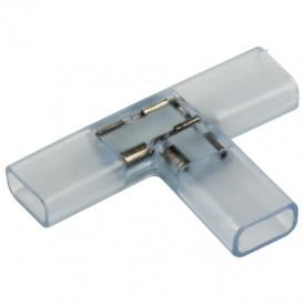 Муфта соединительная T для светодиодной ленты 220 В 14.5х7.5 мм