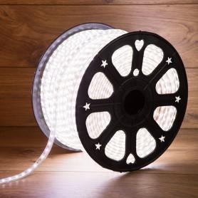 LED лента 220 В, 6.5x13 мм, IP67, SMD 5730, 60 LED/m, цвет свечения белый, 100 м