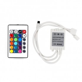 LED RGB контроллер инфракрасный (IR) 12 V/6 A инфракрасный (IR) LAMPER