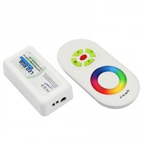 LED RGB контроллер 2.4G (полусенсорное управление) LAMPER