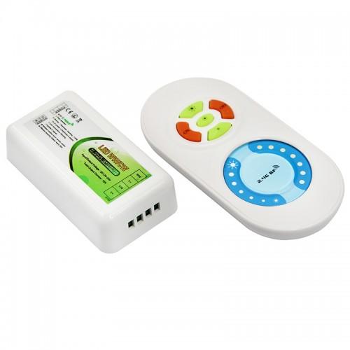 LED контроллер 2.4G (управление цветовой температурой и яркостью) LAMPER