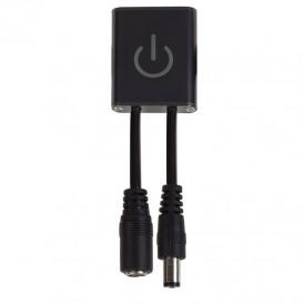 Сенсорный LED выключатель для светодиодной ленты, 5,5х2,1 мм, 12/24 В, 36/72 Вт, 3 А