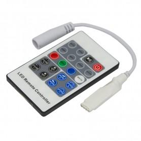 LED RGB мини контроллер радио (RF) 20 кнопок 12-24 V/6 А LAMPER