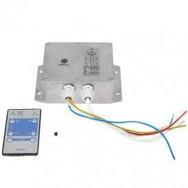 Контроллер для светодиодных лент 230 В, 2000 Вт 3 кан. х 3,0 А, 23 прогр., ДУ, IP54