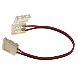 Коннектор соединительный (2 разъема) для одноцветных светодиодных лент шириной 10 мм, длина 15 см LAMPER