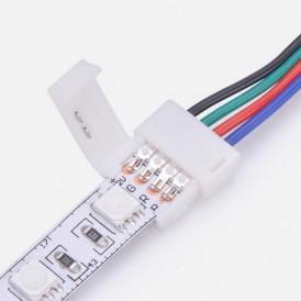Коннектор питания (1 разъем) для RGB светодиодных лент шириной 10 мм LAMPER