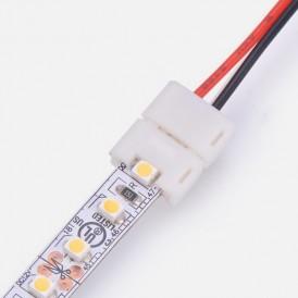 Коннектор питания для одноцветных светодиодных лент шириной 8 мм 120 диодов/метр LAMPER