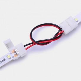 Коннектор соединительный для одноцветных светодиодных лент шириной 8 мм LAMPER