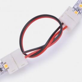 Коннектор соединительный (2 разъема) для одноцветных светодиодных лент 120 диодов/метр, длина 15 см LAMPER