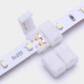 Коннектор стыковочный для одноцветных светодиодных лент шириной 8 мм LAMPER