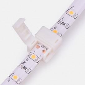 Коннектор стыковочный для одноцветных светодиодных лент с влагозащитой шириной 8 мм LAMPER
