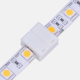 Коннектор стыковочный для одноцветных светодиодных лент с влагозащитой шириной 10 мм LAMPER