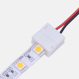 Коннектор питания (1 разъем) для одноцветных светодиодных лент с влагозащитой шириной 10 мм LAMPER