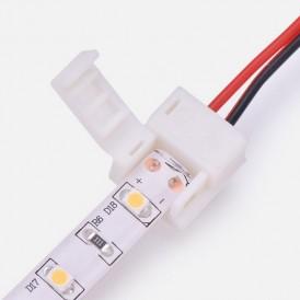 Коннектор питания (1 разъем) для одноцветных светодиодных лент с влагозащитой шириной 8 мм LAMPER
