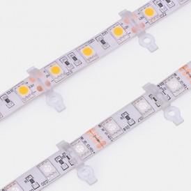 Монтажная клипса для светодиодной ленты с влагозащитой шириной 10 мм LAMPER