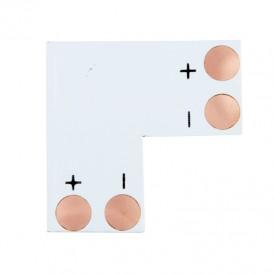 Плата соединительная (L) для одноцветных светодиодных лент шириной 8 мм LAMPER