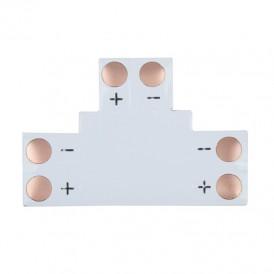 Плата соединительная (T) для одноцветных светодиодных лент шириной 8 мм LAMPER