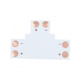 Плата соединительная (T) для одноцветных светодиодных лент шириной 10 мм LAMPER