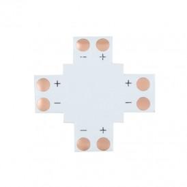 Плата соединительная (X) для одноцветных светодиодных лент шириной 8 мм LAMPER