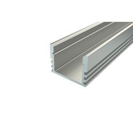 Профиль накладной алюминиевый 1612-2, 2 м REXANT
