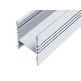 Профиль накладной алюминиевый 1617-S-2 2 м REXANT