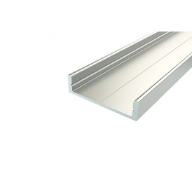 Профиль накладной алюминиевый 2807-2, 2 м REXANT