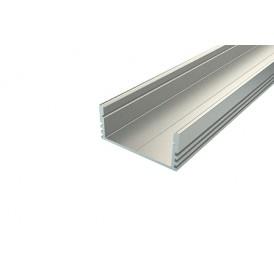 Профиль накладной алюминиевый 2812-2, 2 м REXANT
