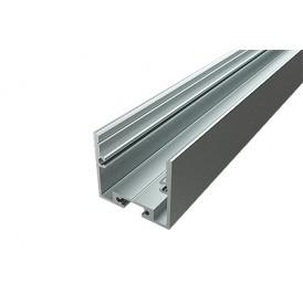 Профиль накладной алюминиевый 2825-2, 2 м REXANT