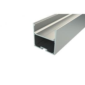 Профиль накладной алюминиевый 5050-2, 2 м REXANT