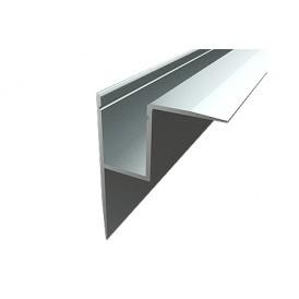 Профиль накладной алюминиевый 4345-2, 2 м REXANT