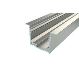Профиль врезной алюминиевый 5032-2, 2 м REXANT