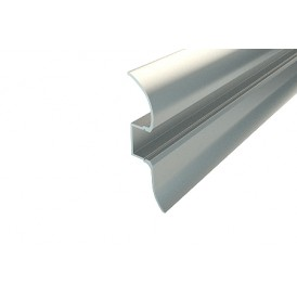Профиль плинтус алюминиевый 5016-2 2 м REXANT