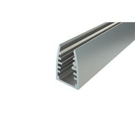 Профиль для стекла алюминиевый 1813-2, 2 м REXANT