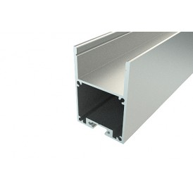 Профиль накладной алюминиевый 2840-2, 2 м REXANT