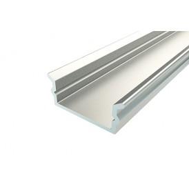 Профиль накладной алюминиевый 1606-2, 2 м REXANT