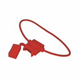 Держатель предохранителя типа Cтандарт прямоугольный красный REXANT