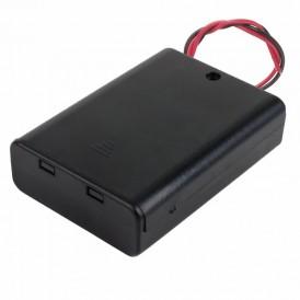 Батарейный отсек 3хАА (с проводами, закрытый)