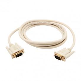 Шнур VGA - VGA с ферритами, длина  1,8 метра, серый (GOLD) REXANT