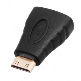 Переходник штекер mini HDMI - гнездо HDMI  REXANT