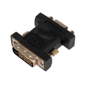 Переходник штекер DVI-I - гнездо VGA  REXANT
