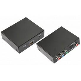 Конвертер YPbPr + SPDIF / Toslink на HDMI, металл  REXANT