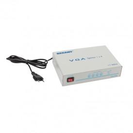 Делитель гнездо VGA на 4 гнезда VGA, 150 МГц, металл  REXANT