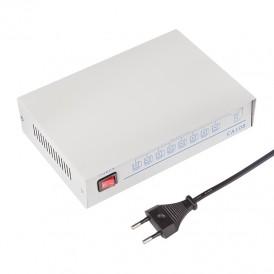 Делитель гнездо VGA на 8 гнезд VGA, 150 МГц, металл  REXANT