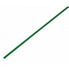 Термоусаживаемая трубка REXANT 1,0/0,5 мм, зеленая, упаковка 50 шт. по 1 м