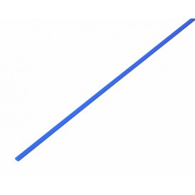 Термоусаживаемая трубка REXANT 1,0/0,5 мм, синяя, упаковка 50 шт. по 1 м