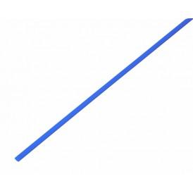 Термоусаживаемая трубка REXANT 1,5/0,75 мм, синяя, упаковка 50 шт. по 1 м